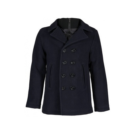 Schott CYCLONE 2 men's Coat in Blue Schott NYC