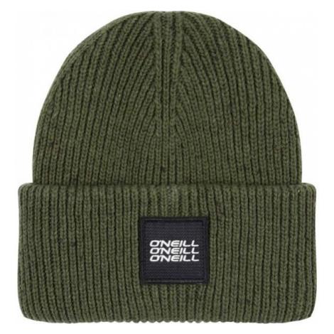 O'Neill BM MELANGE BEANIE dark green 0 - Men's winter beanie