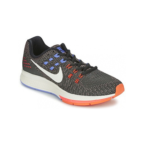 Nike AIR ZOOM STRUCTURE 19 W women's Running Trainers in Black