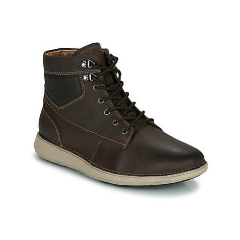 Clarks UN LARVIK PEAK men's Mid Boots in Brown