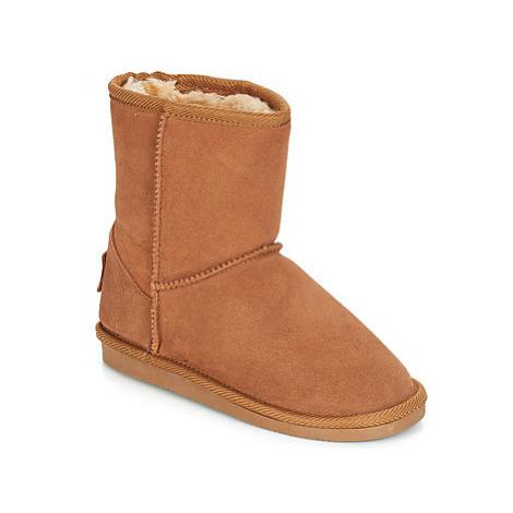 Les Tropéziennes par M Belarbi SNOW girls's Children's Mid Boots in Brown