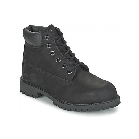 Timberland 6 IN CLASSIC girls's Children's Mid Boots in Black