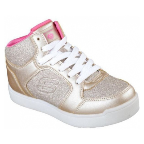 Skechers E-PRO-GLITTER GLOW light pink - Girls' light-up sneakers