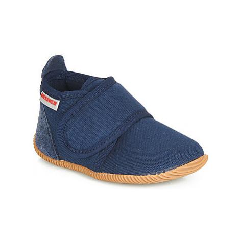 Giesswein STRASS SLIM FIT boys's Children's Slippers in Blue