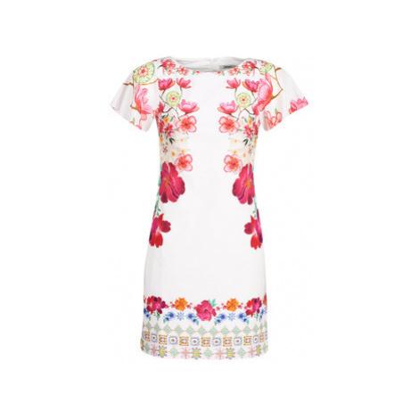 Desigual CLIO women's Dress in White