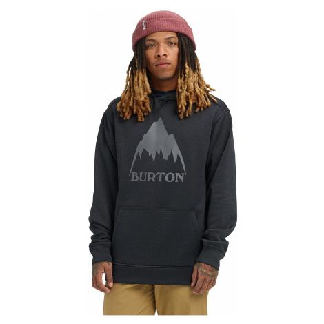 sweatshirt Burton Oak Pullover - Mountain True Black Heather - men´s