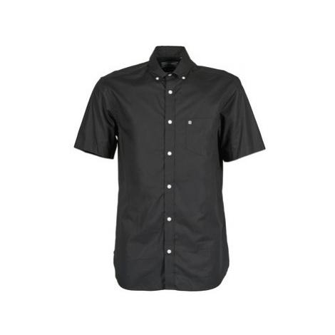 Serge Blanco CHICI men's Short sleeved Shirt in Black