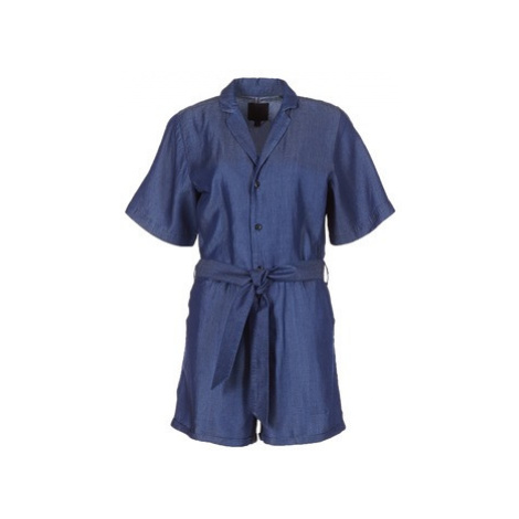 G-Star Raw BRONSON SHORT JUMPSUIT women's Jumpsuit in Blue