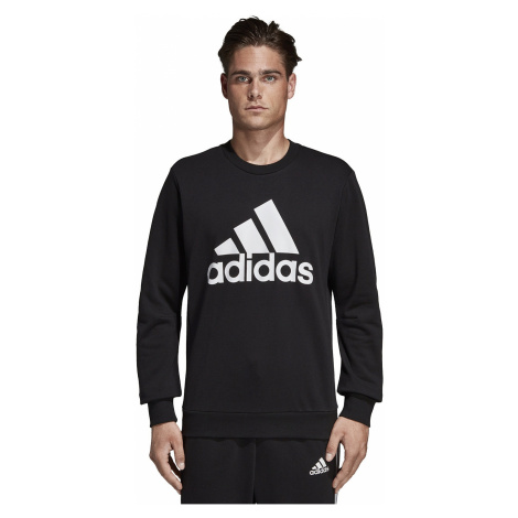 sweatshirt adidas Performance Must Haves Badge Of Sport Crew - Black/White - men´s
