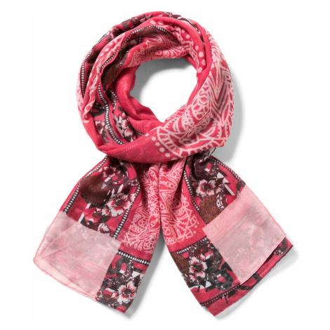 scarf Desigual 17WAWFG3/Rectangle Dusty - 3087/New Fresa