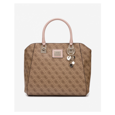 Guess Candace Elite Handbag Brown