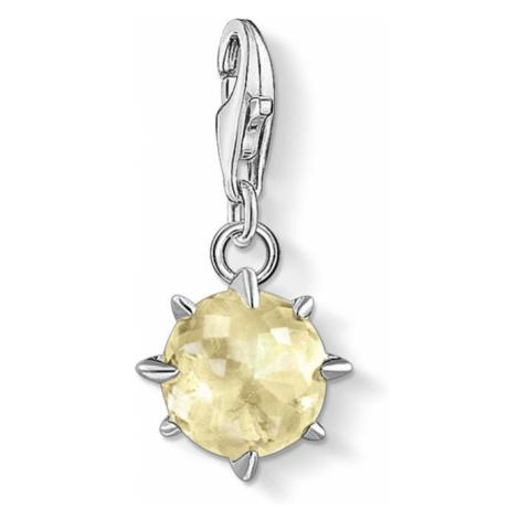 THOMAS SABO Silver Lemon Quartz November Birthstone Charm