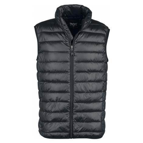 Black Premium by EMP - Black Premium Black Quilted Vest - Waistcoat - black