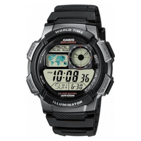 Mens Casio World Alarm Chronograph Watch AE-1000W-1BVEF