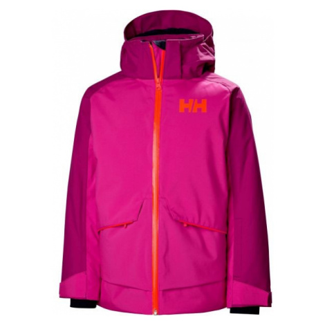 Helly Hansen JR STARLIGHT JACKET purple - Kids' skiing jacket