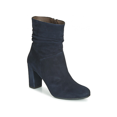 Perlato 11265-CAM-RIVER women's Low Ankle Boots in Blue