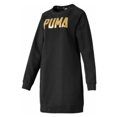 Puma ATHLETICS DRESS FL black - Women's dress