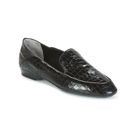 Robert Clergerie FANIN-COCCO-AGNEAU-NOIR women's Loafers / Casual Shoes in Black
