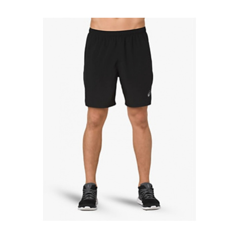 ASICS Silver 2-in-1 Running Shorts, Performance Black