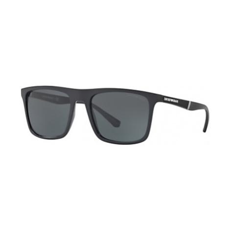 Emporio Armani EA4097 Men's Square Sunglasses
