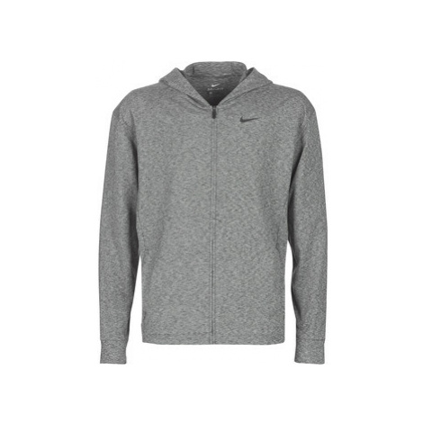 Nike M NK DRY HOODIE FZ HPRDRY LT men's Sweatshirt in Grey