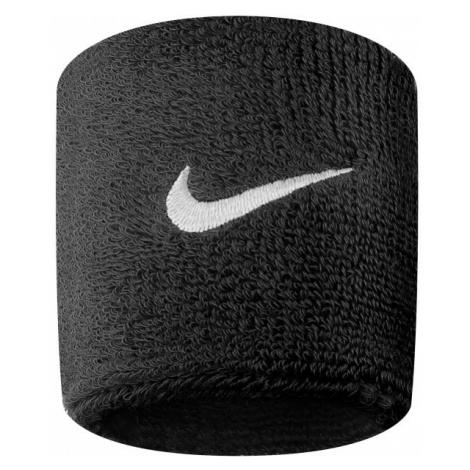Nike SWOOSH WRISTBAND black - Sweatband