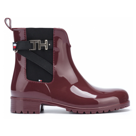 Tommy Hilfiger Ankle boots Red