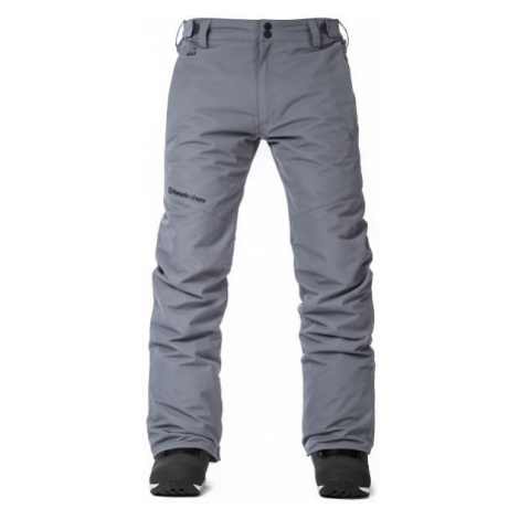 Green men's insulated trousers