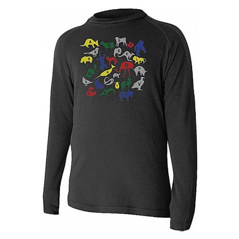 T-Shirt Lasting Haro LS - 9090/Black - unisex junior