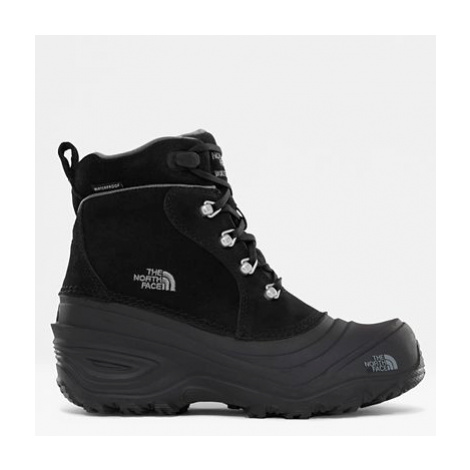 The North Face Youth Chilkat Lace Ii Boots Tnf Black/zinc Grey