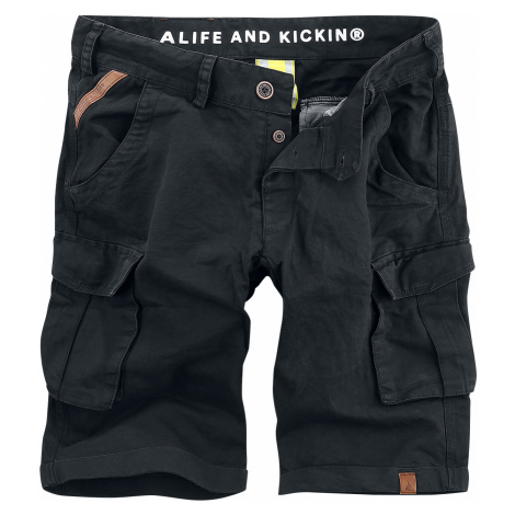 Alife and Kickin - PhilipeAK Shorts - Shorts - black