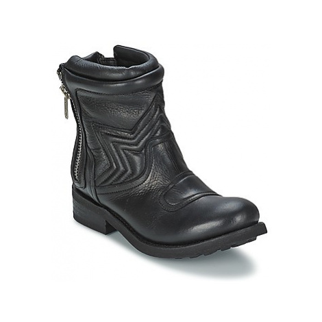 Ash TEXAS women's Mid Boots in Black