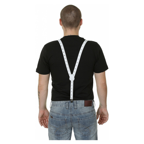 Mohity Suspenders Simple Metr Braces - White/Black