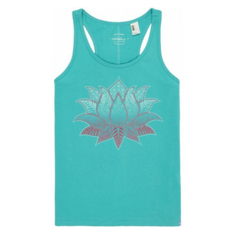 O'Neill LG FLOWER POWER TANKTOP light green - Girl's tank top