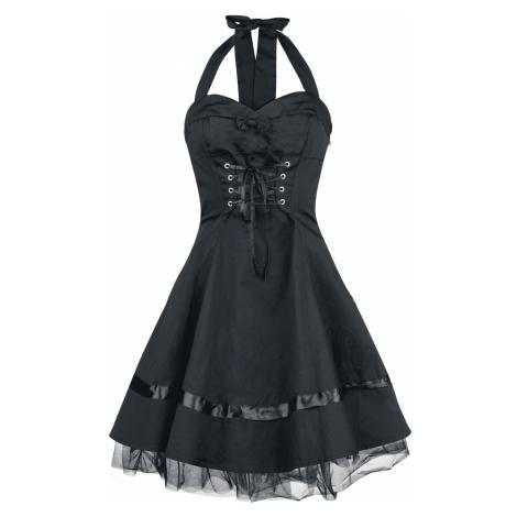 H&R London Lace Cotton Dress Short dress black