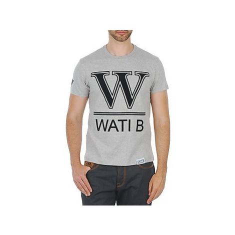 Wati B TEE men's T shirt in Grey