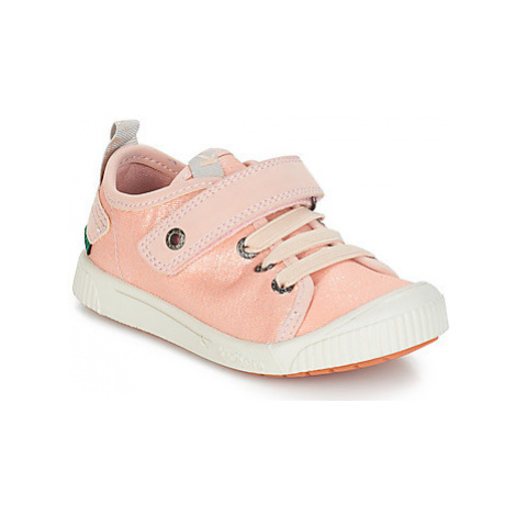 Kickers ZHOU girls's Children's Shoes (Trainers) in Pink