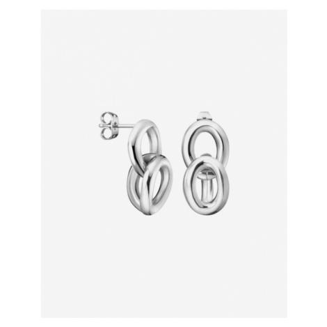 Calvin Klein Statement Earings Silver