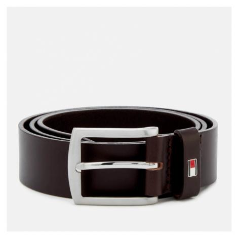 Tommy Hilfiger Men's New Denton Belt 3.5 - Testa Di Moro - 90cm/M - Brown