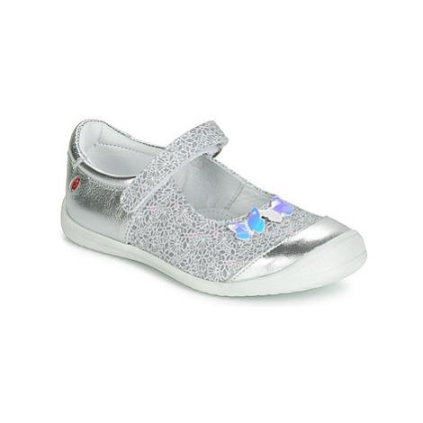GBB SACHIKO girls's Children's Shoes (Pumps / Ballerinas) in Silver