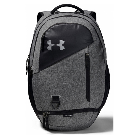 backpack Under Armour Hustle 4.0 - 002/Black/Graphite Medium Heather/Black