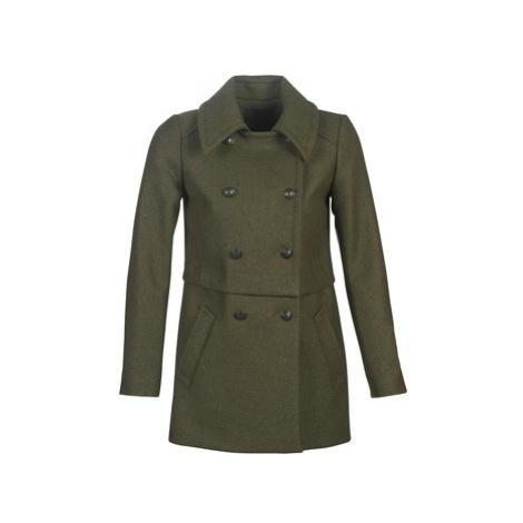 Ikks BP44015-56 women's Coat in Kaki