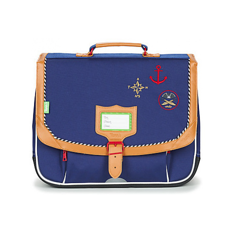 Tann's CORTO CARTABLE 38 CM boys's Briefcase in Blue