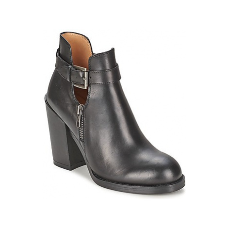 Ash FLOYD women's Low Ankle Boots in Black