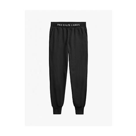 Polo Ralph Lauren Cotton Mix Pyjama Pants, Black