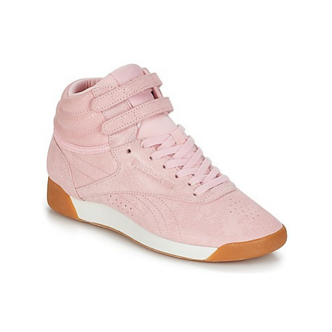Reebok Classic FREESTYLE HI women's Shoes (High-top Trainers) in Pink