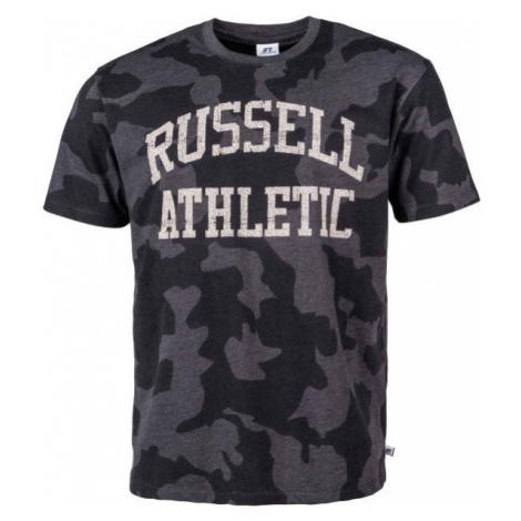Russell Athletic S/S CREWNECK TEE SHIRT gray - Men's T-Shirt