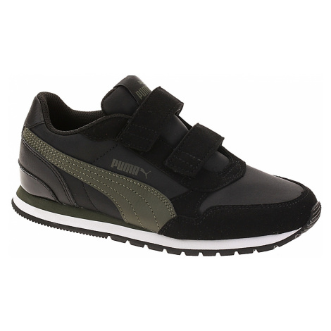 shoes Puma St Runner V2 NL V PS - Puma Black/Forest Night - unisex junior