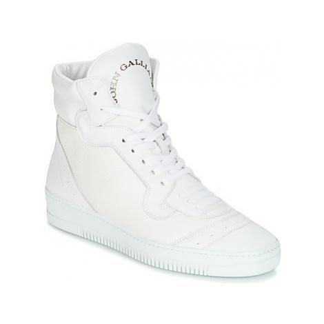 John Galliano FOFA men's Shoes (High-top Trainers) in White