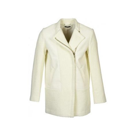 Sisley NEVOLA women's Coat in White